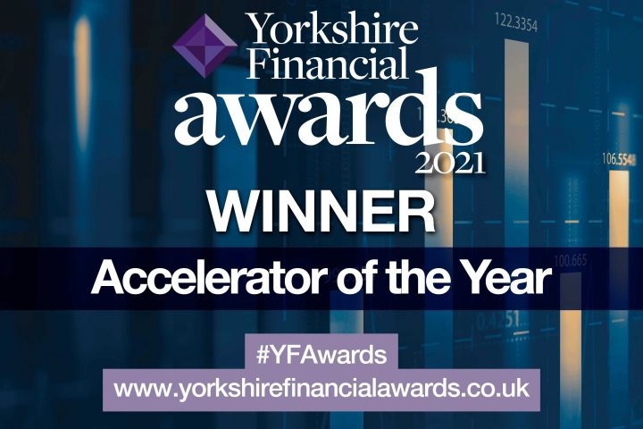 Yorkshire Financial Awards 2021 - Accelerator of the Year Winner